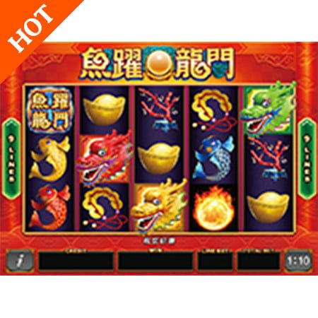 Video Slot Gambling Game Board Arcade Machine Carp Leaping By Borden