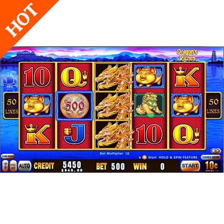 Gambling Machines For Sale Dragon's Riches By Aristocrat