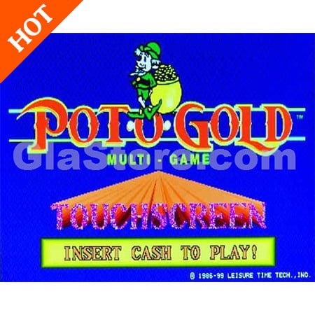 Pot-O-Gold Touchscreen Multi-Game Board