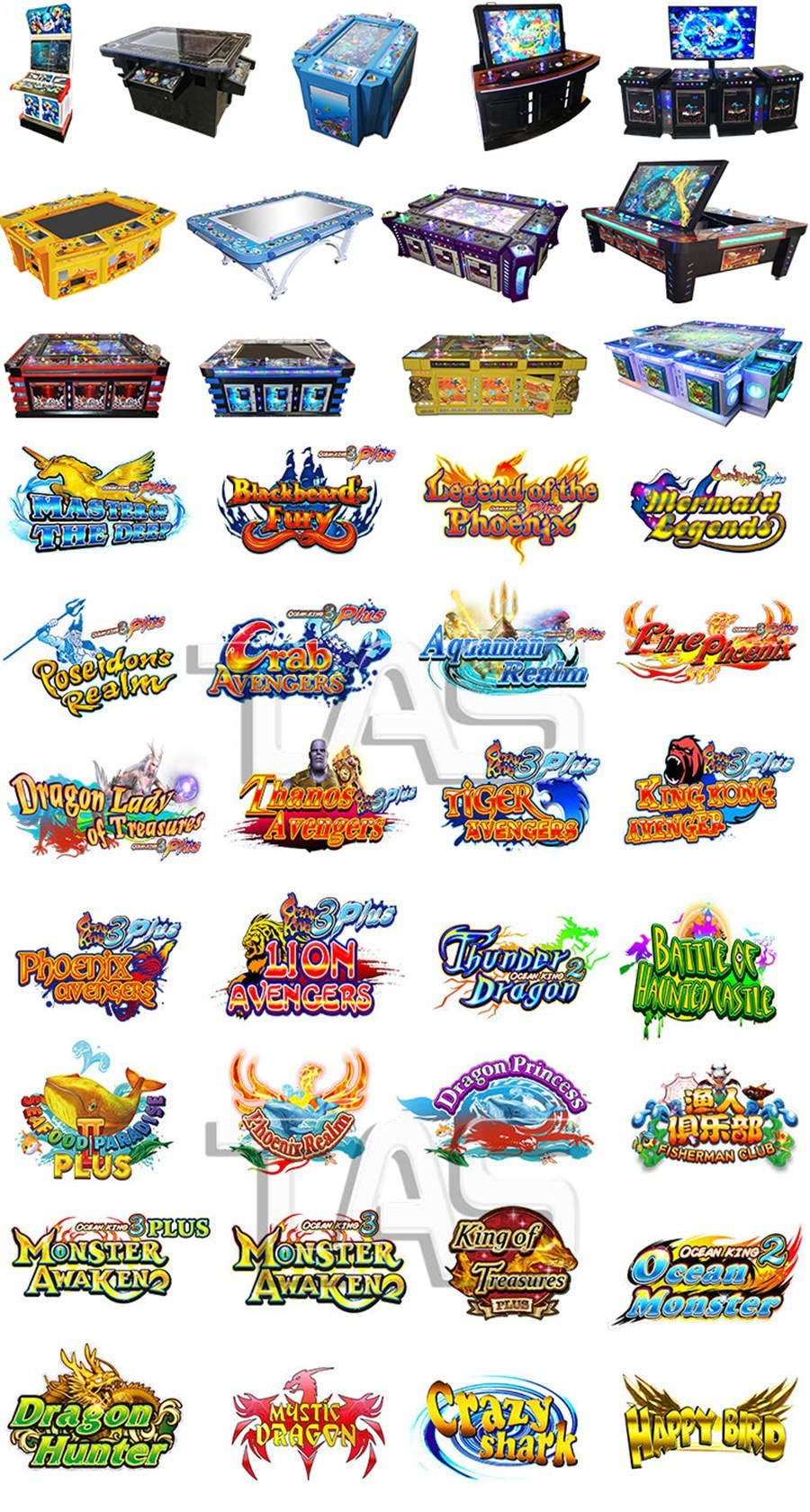 Fire Kirin Fishing Game Machine-High Profit Holding Fish Games. Customize Game Software. Excellent Cabinets.